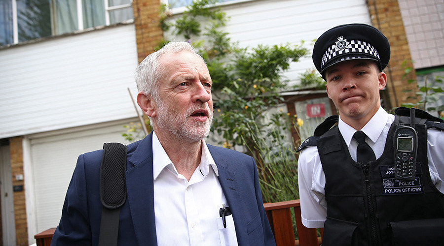 Labour tears itself apart with public slanging matches and plots against Corbyn