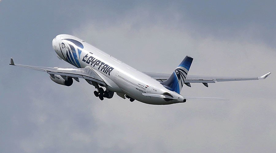 Black box data points to fire on board EgyptAir MS804 flight before crash