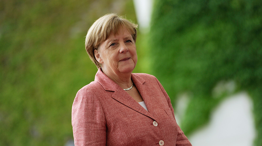 German Chancellor Angela Merkel © Stefanie Loos