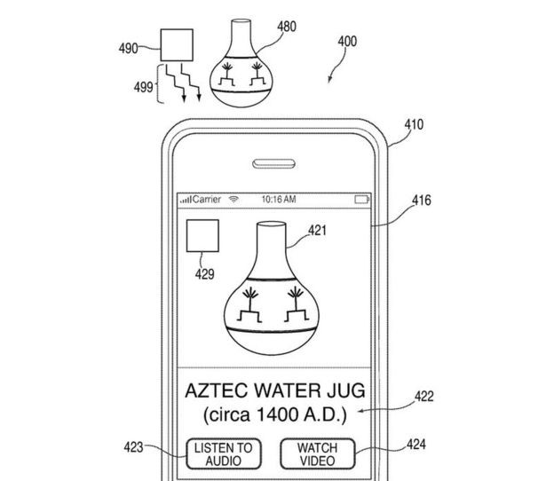 © Apple / United States Patent and Trademark Office