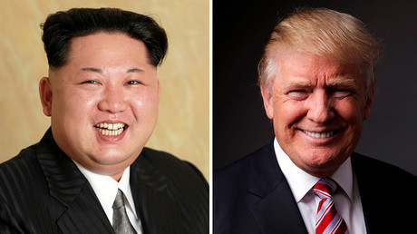 North Korean leader Kim Jong Un (L) and Republican U.S. presidential candidate Donald Trump (R). © Reuters