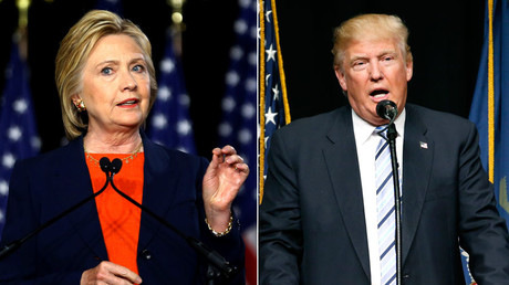 U.S. Democratic presidential candidate Hillary Clinton,  Republican presidential candidate Donald Trump © Mike Blake, Jonathan Ernst