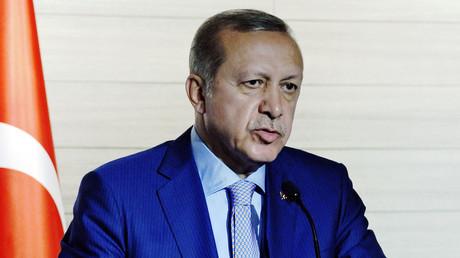Turkey's President Recep Tayyip Erdogan. © Mohamed Abdiwahab