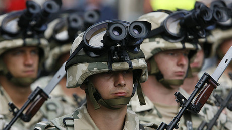 Polish soldiers. © Kacper Pempel