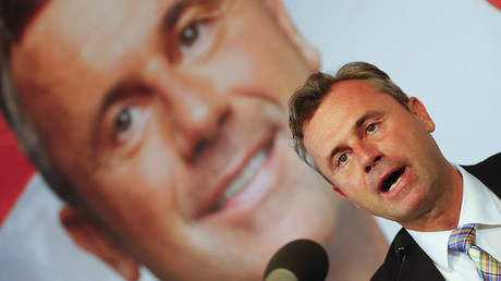 Former presidential candidate Norbert Hofer of the Austrian Freedom Party (FPOe). © Heinz-Peter Bader