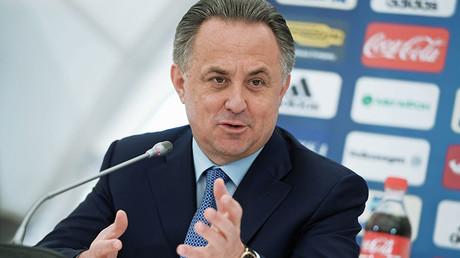 Russian Minister of Sport Vitaly Mutko. ©Alexey Filippov