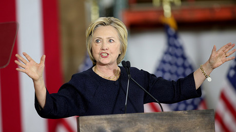 Democratic U.S. presidential candidate Hillary Clinton © Aaron Josefczyk