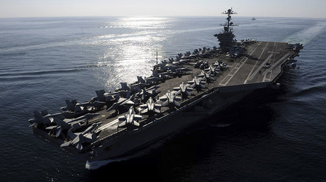 The aircraft carrier USS John C. Stennis. © U.S. Navy / Mass Communication Specialist 3rd Class Kenneth Abbate