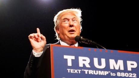 Republican presidential candidate Donald Trump. ©Jonathan Drake