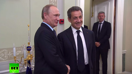 Sarkozy: All sanctions should be lifted, but Moscow needs to reach out first