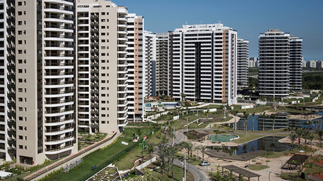 A general view of the Olympic Village in Rio de Janeiro, Brazil, June 15, 2016. © Felipe Dana