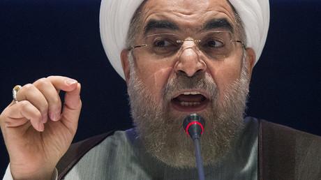 Iran's President Hassan Rouhani. ©Adrees Latif