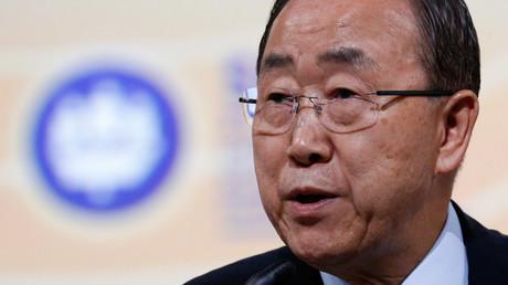 U.N. Secretary-General Ban Ki-moon © Sergei Karpukhin