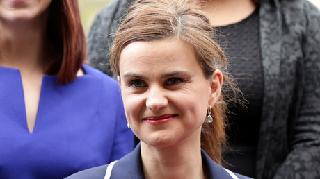 Batley and Spen MP Jo Cox is seen in Westminster May 12, 2015. © Yui Mok