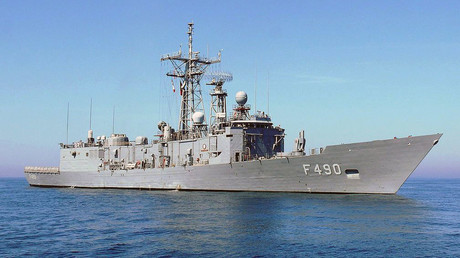 Turkish Navy's F-490 TCG Gaziantep frigate. © Wikipedia