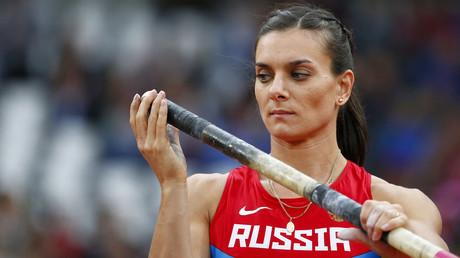 Russia's Yelena Isinbayeva. © Kai Pfaffenbach