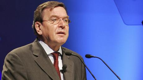 Former German chancellor Gerhard Schroeder © Stringer