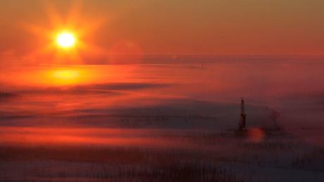 An aerial view shows Rosneft's Vankor oil field in eastern Siberia, some 2,800 km (1,740 miles) east of Moscow © Sergei Karpukhin