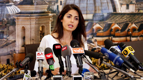 Rome's newly elected mayor Virginia Raggi © Remo Casilli