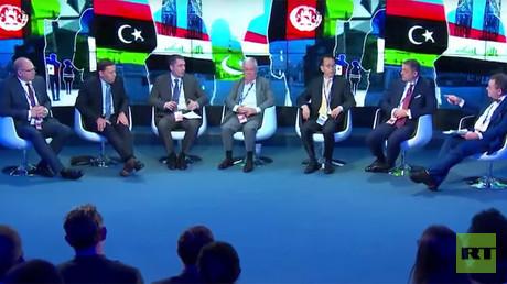 Economic impact of migrant crises (Panel discussion at St Pete Intl Forum)