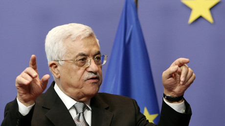Palestinian President Mahmoud Abbas. © Francois Lenoir