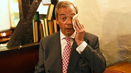 Nigel Farage, the leader of the United Kingdom Independence Party (UKIP) © Dylan Martinez