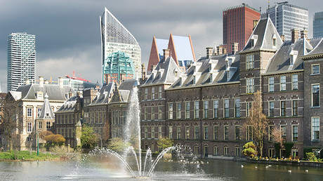 A general view shows the House of Parliament in The Hague © Paul Vreeker