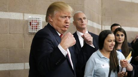Republican U.S. presidential candidate Donald Trump. © Jim Young
