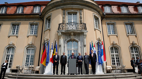 Foreign minister meeting of the EU founding members in Berlin, Germany, June 25, 2016 © Axel Schmidt