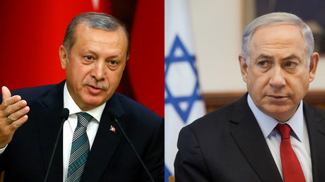 Turkish President Tayyip Erdogan and Israeli Prime Minister Benjamin Netanyahu © Reuters