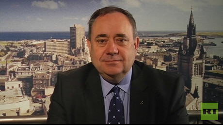 Alex Salmond - former First Minister of Scotland