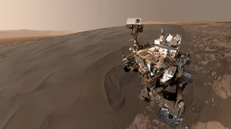 Curiosity Self-Portrait at Martian Sand Dune © NASA / JPL-Caltech / MSSS