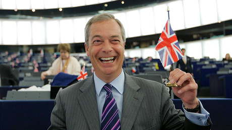 Nigel Farage, leader of the United Kingdom Independence Party (UKIP). © Vincent Kessler