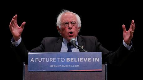 U.S. Democratic presidential candidate Bernie Sanders. ©Lucas Jackson