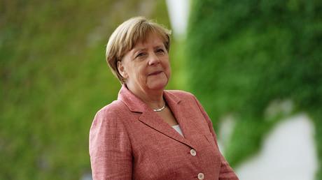 German Chancellor Angela Merkel © Stefanie Loos