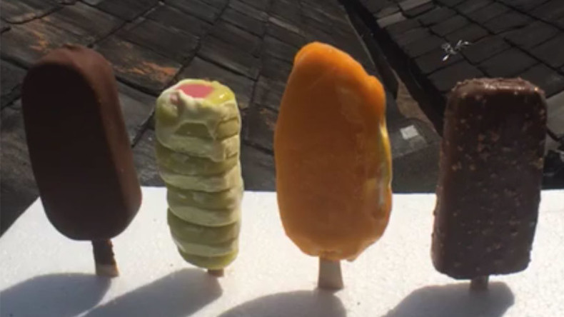 4mn People Watch Epic Facebook Live Ice Cream Melting