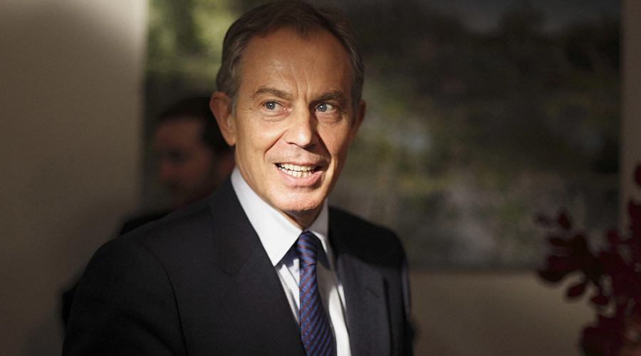 Former British Prime Minister Tony Blair © Kevin Coombs