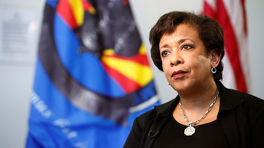 United States Attorney General Loretta Lynch  © Nancy Wiechec