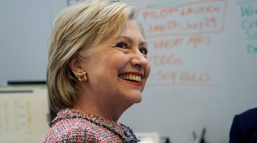 U.S. Democratic presidential candidate Hillary Clinton © Rick Wilking