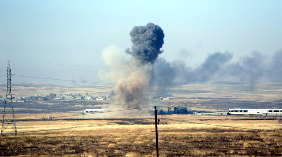 US-led coalition airstrike kills 2 ISIS 'senior military commanders' – Pentagon