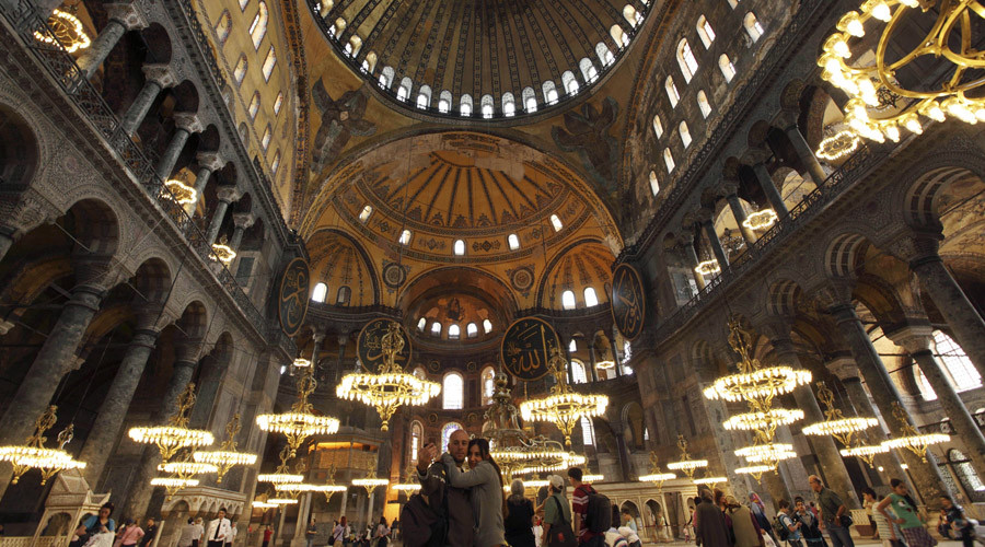1st time in 81yrs: Muslim call to prayer heard from inside Istanbul's Hagia Sophia