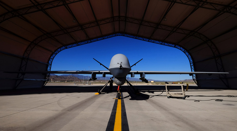 A U.S. Air Force MQ-9 Reaper drone ©Josh Smith