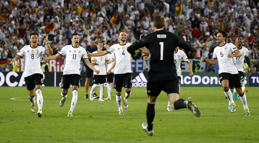 Germany in Euro 2016 semi-final after beating Italy in thrilling penalty shootout