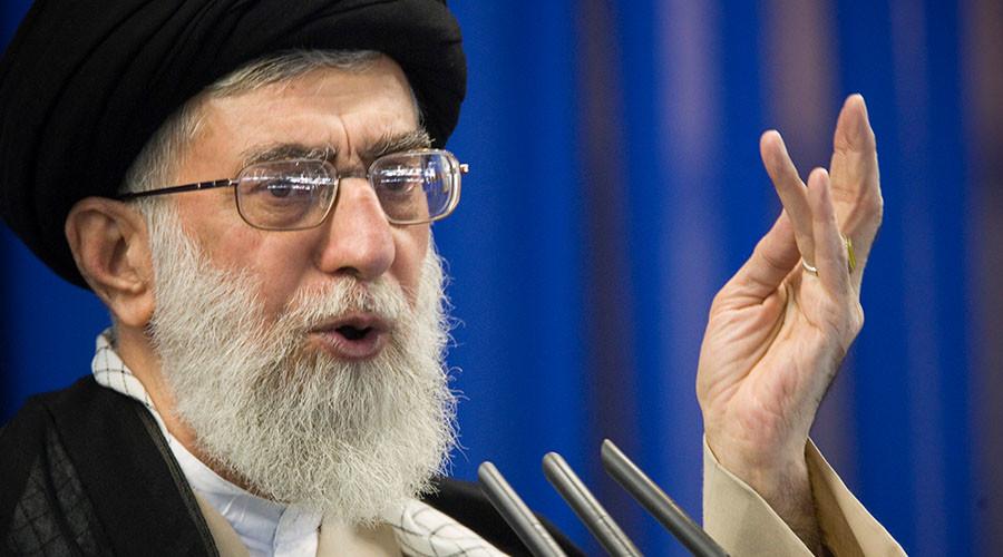 Iran's Supreme Leader Ayatollah Ali Khamenei. ©Morteza Nikoubazl