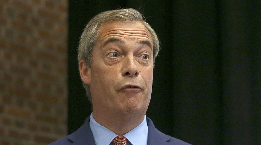 Farage's 'annual' resignation met with social media frenzy