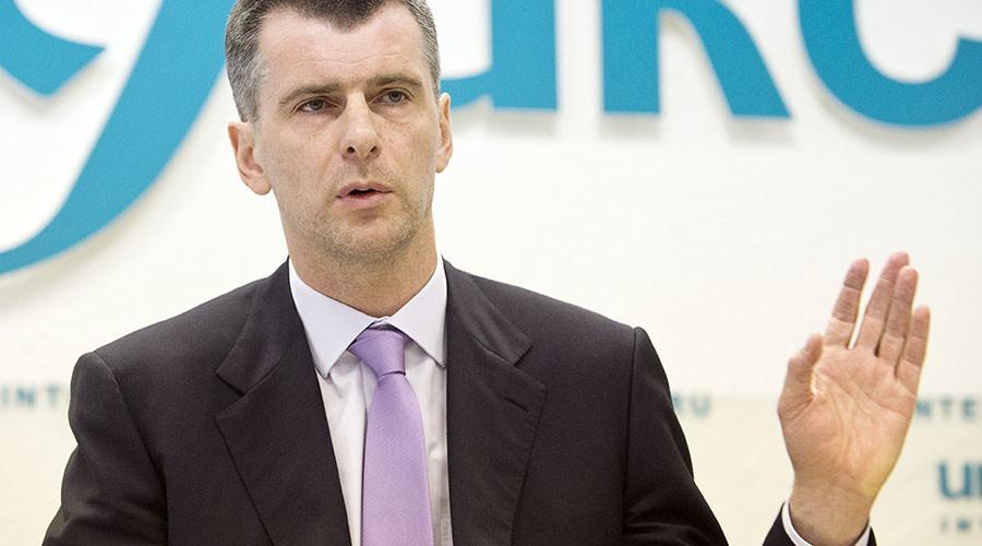 Billionaire Prokhorov's company denies Russian assets sale