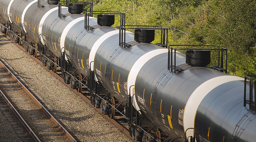 Caustic fracking chemical spills in San Antonio train derailment