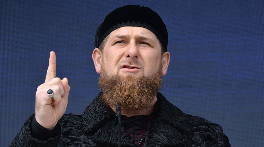 Head of the Chechen Republic Ramzan Kadyrov. © Said Tsarnaev
