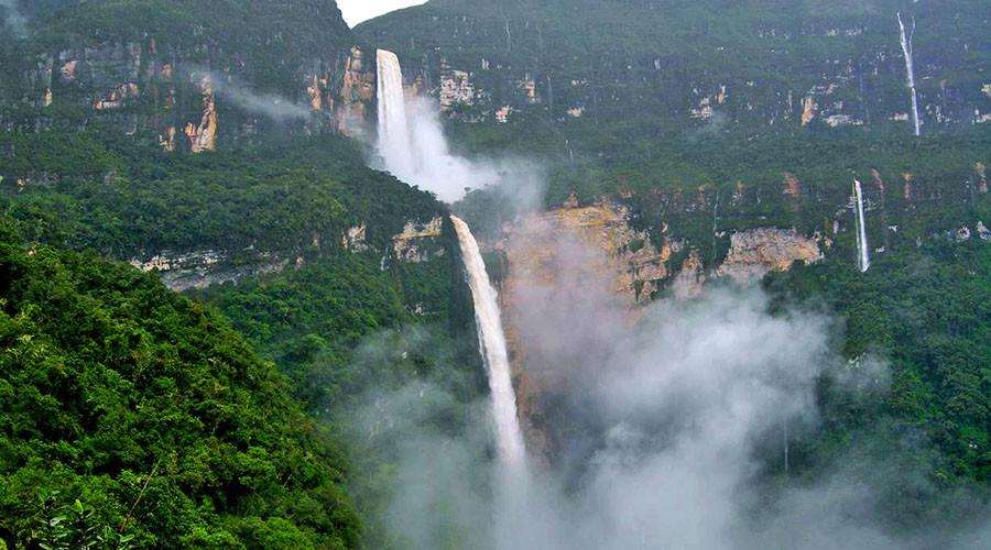 Gocta Waterfall. ©Wikipedia