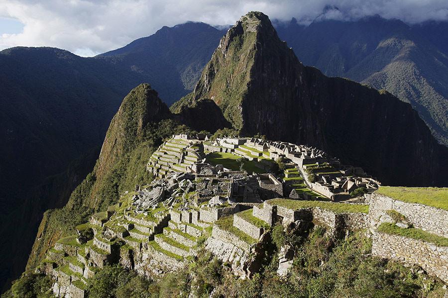 A general view of the Inca citadel of Machu Picchu. ©Enrique Castro-Mendivil